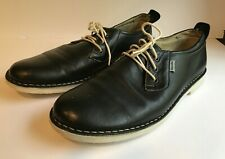 Men's Casual Blue Leather Casual Loafer Shoe Size 42EUR 9 US Made Romania  #3
