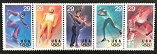 1994 Scott #2807-2811 - 29¢ - Winter Olympics - Strip of 5 - MNH Retail = 6.25