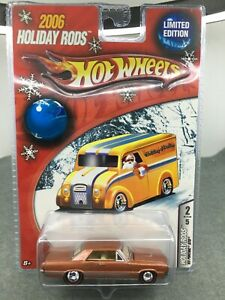 Hot Wheels *2006 Holiday Rods * 1965 Pontiac GTO **1:64* Limited Edition
