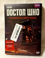 New Doctor Who: The Complete Tenth Series (Dvd, 2017, 5-Disc Set)