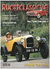 9 1999 RUOTECLASSICHE 131 - CITROEN 5CV 1925 - FIAT 1200 1500 1600 S - BMW 2000