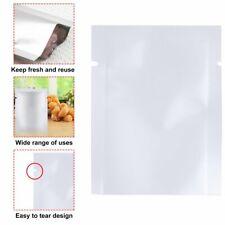 100pcs Aluminum Foil Mylar Bag Vacuum Sealer Food Storage Package Pouches#G