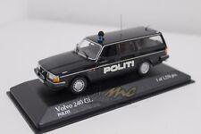 MINICHAMPS 400171490 Volvo 240 GL Break 1986 Politi 1/43 #NEW