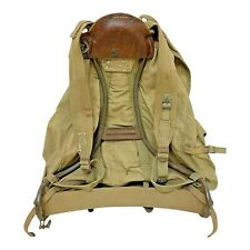 More details for ww2 rucksack us army mountaineer pack with frame khaki  avery 1943 war soldier