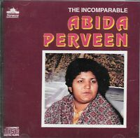 ABIDA PARVEEN - THE INCOMPARABLE - BRAND NEW ORIGINAL CD - FREE UK POST