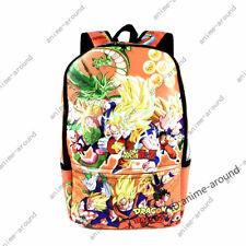 Dragon Ball Z Backpack School Bags Super Saiyan Goku Laptop Bags Bookbag Gift