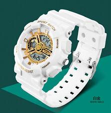SKMEI Men's LED Digital Alarm Date Military Sports Army Waterproof Quartz Watch