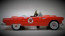 1956 Ford Tbird Star Pedal Car A Vintage Show Hot T Rod Midget Metal Model 1955