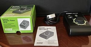 Kaiser 4212 Electric Enlarger Exposure Timer - Untested. Boxed
