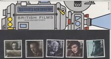 GB 1985 BRITISH FILMS PRESENTATION PACK 165 SG 1298 1302 MINT STAMP SET