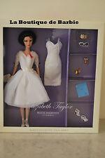 ELIZABETH TAYLOR WHITE DIAMONDS DOLL, ELIZABETH TAYLOR SILKSTONE DOLLS SERIES