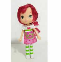 "Strawberry Shortcake Doll 6"" figure Vintage red hair doll"
