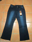 NEW! womens CITY CHIC pear boot-cut leg style dark denim jeans SZ 16 R
