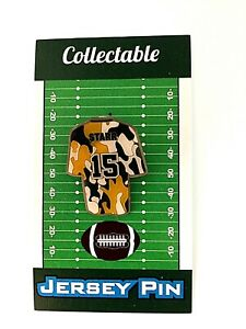 Green Bay Packers Bart Starr jersey lapel pin-Classic Cheese Collectible