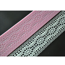 FOUR-C European Silicone Lace Mold Sugarveil Cake Lace Mat Cake Tools Decorating
