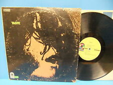 Taste S/T 1969 Record, Rory Gallagher, Blues Rock, VG+/VG Atco SD 33-296 MO Orig