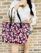 Kate Spade Young Lane Nyssa Multi Cherry Blossom Tote Bag Handbag