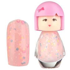 Acrylic Neon Nail Art Polish Glitter Manicure Varnish Decor Doll Shaped Ladies