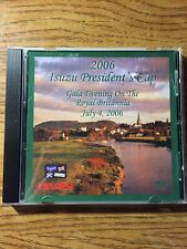 2006 Isuzu President's Cup Gala Evening On Royal Britannia Isuzu DVD Tested Rare