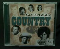 VARIOUS ARTISTS - GOLDEN AGE OF COUNTRY: HEARTBREAK U.S.A. NEW CD Time Life