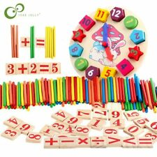 Wooden Educational Preschool Toddler Toys for 3 4 5 Year Old Boys math learning