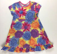 Hanna Andersson US 3 90 Bright Floral Flower Knit Cotton Dress
