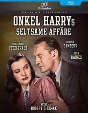 Onkel Harrys seltsame Affäre - Robert Siodmak - Filmjuwelen BLU-RAY