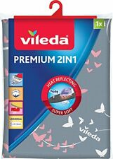 Vileda 140511 Premium 2-in-1 Copriasse da stiro con superficie rivestita di