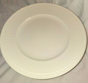 """Set 6 Mikasa Italian Countryside 11.25"""" Dinner Plates Ivory Excellent Cond."""