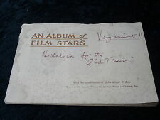 John Player - C1930's Album - Film Stars with Cards (4 Missing)