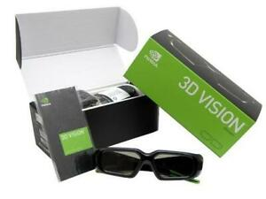 NVidia 3D Vision Wireless Glasses 942-10701-0001-002, 3D Blu-Ray Movie 3D Gaming