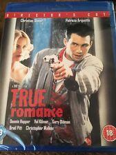 True Romance (Blu-ray Region Free) Factory Sealed Schneller Versand
