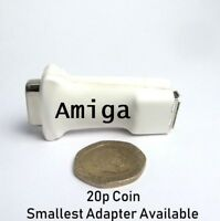 Commodore Amiga Mouse USB PC Adapter - Compact Design White Version - All Amigas
