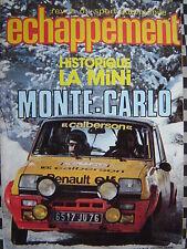 revue ECHAPPEMENT n°113 /MINI COOPER STORY/ ALFETTA GR2 /RALLYE MONTE CARLO/1978