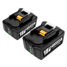 2PACK NEW 6.0Ah 18V LITHIUM ION BATTERY FOR MAKITA BL1860 BL1830 LXT400 BL1850