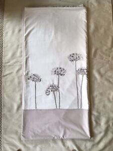 John Lewis Embroidered Floral Double Duvet Cover