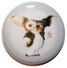 "1"" (25mm) Gremlins ""Gizmo"" Button Badge Pin - High Quality -MADE IN UK"