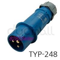 MENNEKES TYP 248 Part no.248 [IP44 230V 16A 2P+E] Screw terminals single body