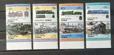 Tuvalu-Nukulaelae 1-8 Paare postfrisch 1984 Lokomotiven, Züge