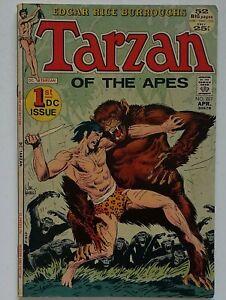 Tarzan of the Apes #207 1st DC Comic - issue origin -   Kubert cvr - See pics!