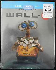 * BRAND NEW * DISNEY PIXAR WALLE BLU-RAY STEELBOOK WALL-E OOP