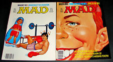 2 MAD Magazines 262 April ROCKY IV 263 June 1986 ALFRED E NEUMAN Tooth Smile 1