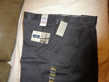 Dockers D3 Men's Iron Free Cotton Khaki Pleated Pants- Gray, Size-37-38 x 29 NWT