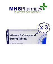 Vitamin B Compound Strong BP [28 x 3 packs] - Vitamin B1, B2, B3 & B6