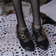 New Black high-heeled shoes For 1/4 BJD Doll