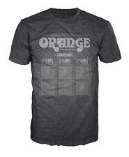 Orange Amplifiers Vintage Logo Fitted 100% Cotton T-Shirt, Men's Medium - NEW
