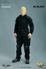 ToysCity 1/6 Male Clothes Costume Black Combat Uniforms F 12'' Man Doll