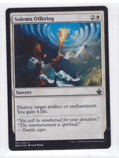 Magic Solemn Offering- Offerta Solenne 107/254 Battlebond NC FOIL