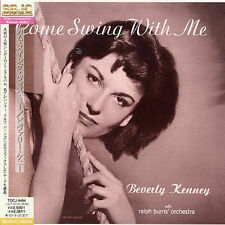 COME SWING WITH ME: BEVERLY KENNEY (w/Ralph Burns Orchestra) NEW CD-Japan w/OBI