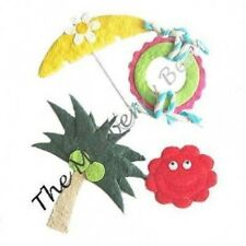 4 Beach vacation swimming island tropical party Paper Embellishments Scrapbook